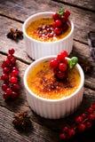 Cream brulee стоковое фото rf