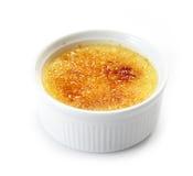 Cream brulee Stock Photo