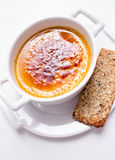 Cream Brulee Royalty Free Stock Photography