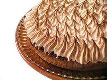 Cream Cake. Detail, isolated on white background Stock Photography