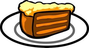 Cream-Cake. Piece of Cake – Vector illustration Stock Photos