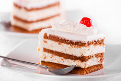 Cream Cake Stock Images