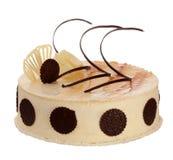 Cream cake with chocolate Royalty Free Stock Photos