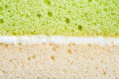 Cream cake vanilla Stock Image