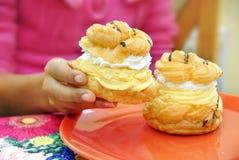Cream cakes Royalty Free Stock Photos