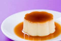 Cream Caramel Royalty Free Stock Photo
