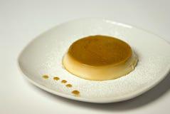 Cream caramel pudding Royalty Free Stock Images