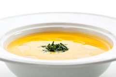 Cream of Cauliflower Soup Royalty Free Stock Photography