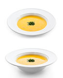 Cream of Cauliflower Soup Royalty Free Stock Photos