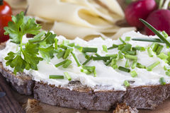 Cream cheese Royalty Free Stock Image