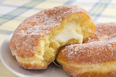 Cream Cheese Paczki Royalty Free Stock Images