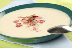 Cream cheese soup Stock Photo