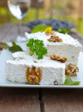 Cream Cheese Terrine Royalty Free Stock Photo