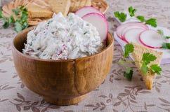 Cream cheese Stock Image