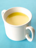 Cream of chicken soup Royalty Free Stock Photo