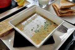 Cream chowder Royalty Free Stock Images