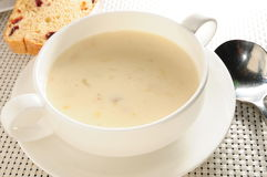 Cream chowder Stock Photos