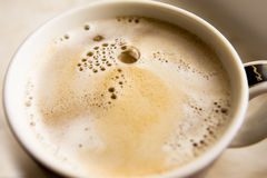 Cream coffee Royalty Free Stock Images