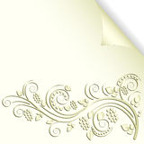 Cream color background Stock Photo