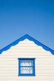 Cream colored  beach hut Royalty Free Stock Photo