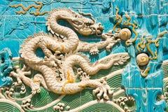 The cream-colored Long(dragon) Royalty Free Stock Photos