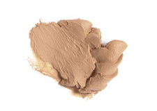 Cream Compact sample Stock Image