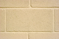 Cream Concrete Block Background Stock Images
