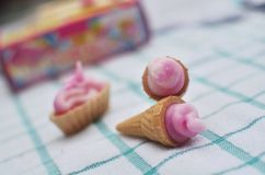 Cream Cone. Div cream cone Royalty Free Stock Photography