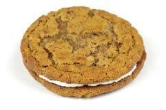 Cream Cookie Stock Photo
