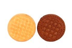 Cream cookies Royalty Free Stock Image