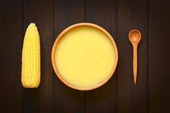 Cream of Corn Soup Royalty Free Stock Photo