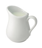 Cream (Creamer) (with clipping path) Royalty Free Stock Photos
