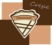 Cream crepe Royalty Free Stock Photos