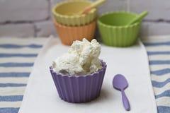 Cream curd Royalty Free Stock Photo