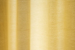 Cream curtain with transmitted light. Stock Images