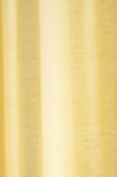 Cream curtain with transmitted light. stock photo
