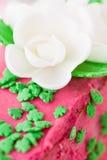 Cream dessert Stock Images