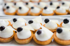 Cream dessert Royalty Free Stock Photo