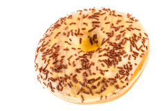 Cream donut Royalty Free Stock Image