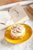Cream donut Royalty Free Stock Photos