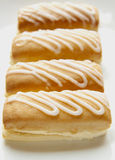 Cream doughnuts Stock Photography