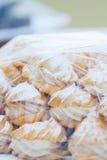 cream eclairs Стоковые Изображения RF