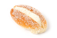 Cream-filled bread Royalty Free Stock Photo