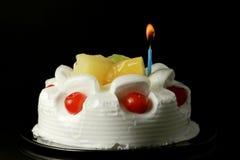 Cream fruit cake 1 Royalty Free Stock Images