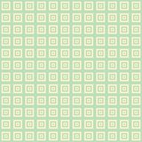 Cream and green blue square cube pattern background. Wallpaper Royalty Free Stock Photography