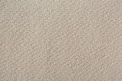 Cream handmade paper texture. Royalty Free Stock Images
