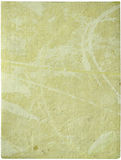 Cream handmade sheet of paper Royalty Free Stock Photo