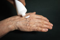 Cream for hands Royalty Free Stock Photos