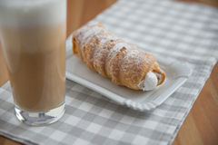 Cream horn pastries Royalty Free Stock Photography