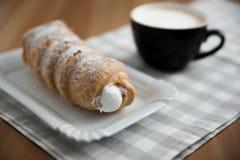 Cream horn pastries Stock Image